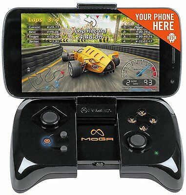 MOGA Mobile Gaming Console Android 2.3+ Cell Phone Game Controller Wireless New