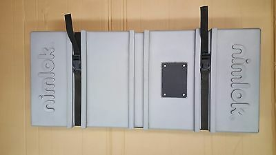 Nimlok Banner Stand or Accessories Trade Show Case 33Hx14Wx4.5D
