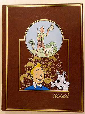 BD  OEUVRE INTEGRALE D'HERGE N°1 tintin au pays des soviets   EO 1984  (AD3GB33)