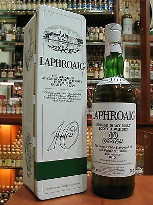 Very rare Laphroaig 10yo. Greek market. Single  Malt Scotch whisky. 700ml - 43%
