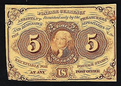 US 5c Fractional Currency FR1230 CU (-001)