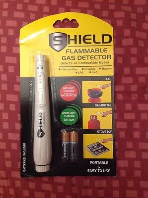 SHIELD - FLAMMABLE GAS DETECTOR, Portable Combustible Gas Detector