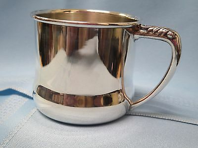 Oneida Silversmiths Silver Plate Baby Cup, No Engraving