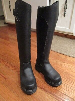 Mountain Horse Tall Winter Riding Boots Ladies Size 8R