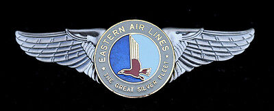 Commemorative Eastern Airlines Wing Pilot Co Flight Crew Ground Pin Up Airline