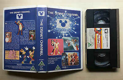 The Disney Channel - Volume 1 - Vhs Video