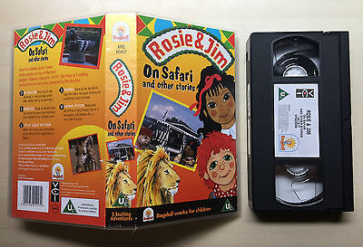 Rosie And (&) Jim - On Safari - Vhs Video