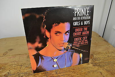 Prince & The Revolution Girls & Boys 12 Inch Vinyl Record Single Mint Condition
