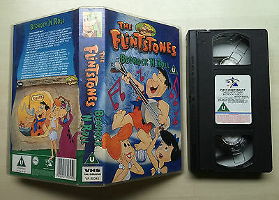 The Flintstones - Bedrock 'n Roll - Hanna Barbera - Vhs Video