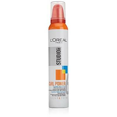 L'OREAL - Mousse coiffante - Studio Line  Curl Power - 200ml