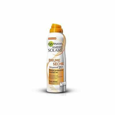 GARNIER - Spray Solaire - Brume Sèche Protectrice FPS20 - 200ml