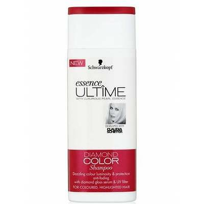 SCHWARZKOPF - Shampoing - Essence Ultime Diamond Color Cheveux colorés et méchés