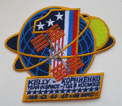 YEAR IN SPACE - ISS 43, 44, 45 expedition patch space