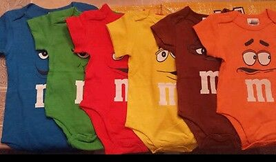 M&M'S New Baby Onsie (Choose Color & Size)