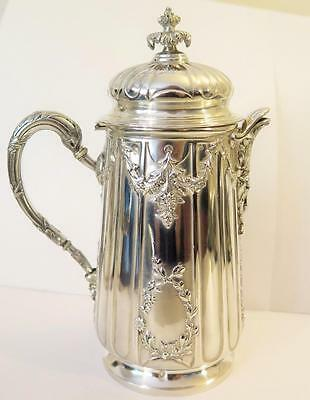 19th Century French Rococo 950 Silver Demitasse Tea or Coffee Pot