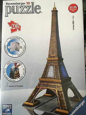 Torre Eiffel Puzzle 3D Ravensburger Nuovo
