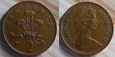 COLLECTIBLE 2p NEW PENCE COIN 1978