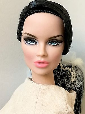 "Fashion Royalty Fashion Explorer Vanessa Nude Doll 12.5"" Rare"