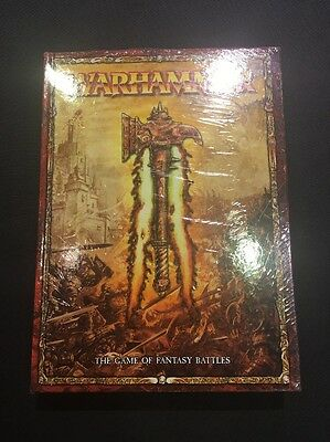 Warhammer: The Game of Fantasy Battles Core Rulebook Hard Cover Sealed
