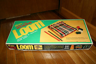 Vintage 20 Inch Table Top Weaving Loom Kmart