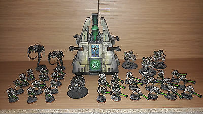 Games Workshop - Warhammer 40k Necron Army (professionally painted)