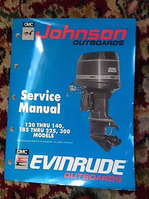 Johnson Evinrude ES (1990) service manual -  120 thru 140, 185 thru 225 hp