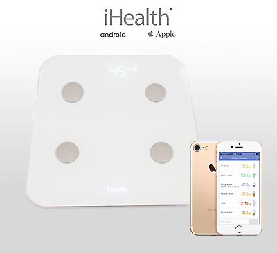 iHealth CORE HS6 Body Analysis Wireless Scale for Android & Apple Smartphones