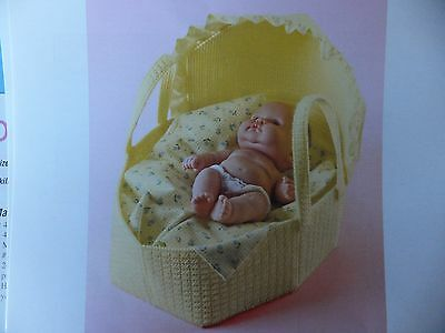 Baby Dolly Bassinet  Pattern(s) in Plastic Canvas