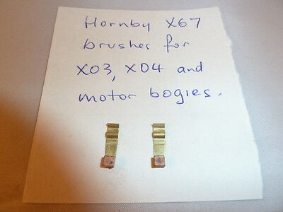 Pair of Brushes for Hornby and Triang motors X03, X04 and motor bogies