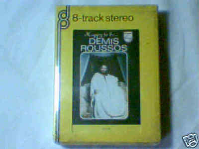 DEMIS ROUSSOS Happy to be... stereo 8 8-track RARISSIMA SIGILLATA V. RARE SEALED