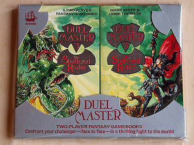 Duel Master 3: The Shattered Realm 2-player gamebooks in original packaging VF