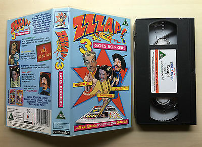 Zzzap! Goes Bonkers - Vol. 3 - Vhs Video