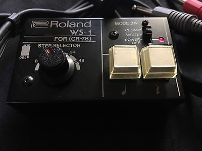 Roland - WS-1 Programmer for CR-78. EXTREMELY RARE