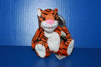 Coca Cola International Bean Bag Plush Collection Curry the Bengal Tiger India