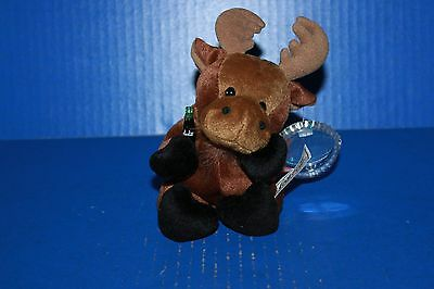 Coca Cola International Bean Bag Plush Collection Gourmand the Moose Canada