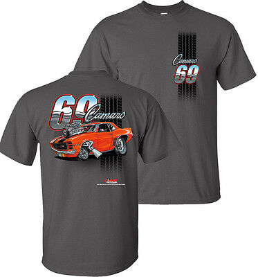 d6a450bc T-SHIRT W/ 1969 Chevrolet Camaro Tooned Up (1st Generation) - $19.99 ...