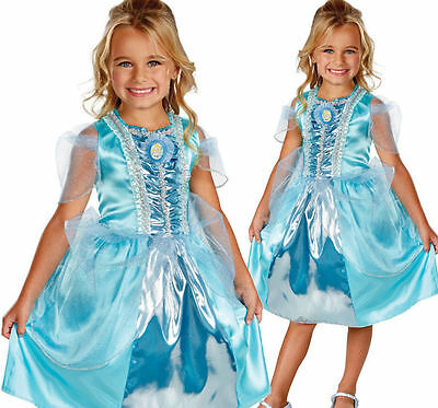 WHOLESALE LOT OF 6 | Disney Licensed Cinderella Girls Size 4 - 6 Dresses Costume