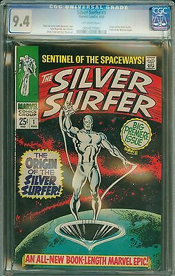 Silver Surfer #1 CGC 9.4