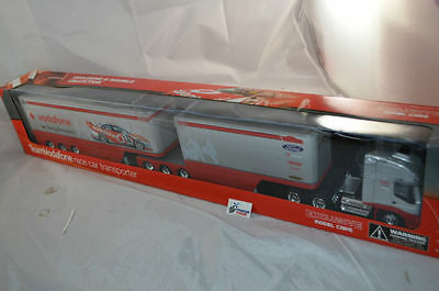 1:32 2007 LOWNDES Team Vodafone race car transporter B Double truck 1:32 IVECO