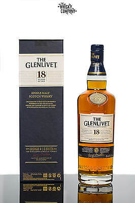 The Glenlivet 18 Year Old Speyside Single Malt Scotch Whisky