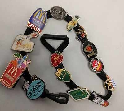 RARE LOT McDonald's Employee Crew Lapel Pins WORLD SUMMIT CONFERENCE Vintage