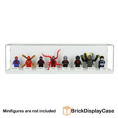 Display Case for Lego Minifigure 76039 Ant Man 76036 Miles Morales SHIELD Agent