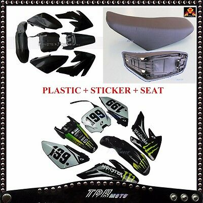 CRF70 Monster Sticker/Plastic/Seat For 140/150/160/200cc Pitpro Atomik Thumpstar