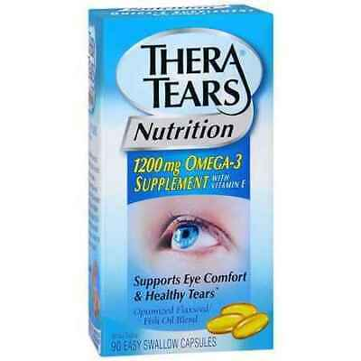 Thera Tears Omega-3 1200mg Capsules 90