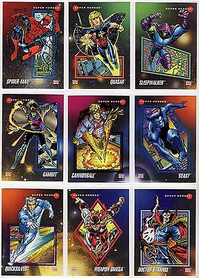 1992 Impel Marvel Universe III X-men Base Card You Pick Finish Your Set 101-200