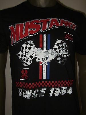 Men's Ford Motors Company Mustang American Racing Car FMC Since 1964 Tee Shirt