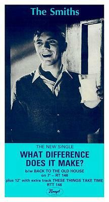 the SMITHS **POSTER** What Difference Does It.. Promo ad - Morrissey Johnny Marr