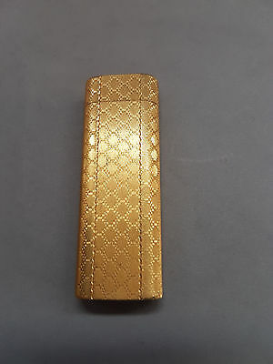 Briquet Cartier Guilloché Plaqué Or
