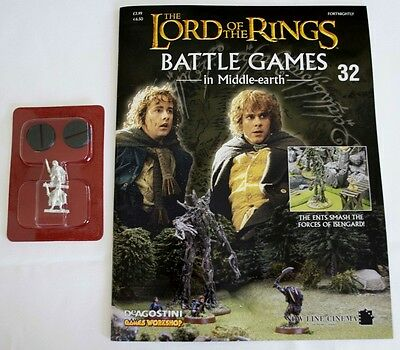 Lord Of The Rings:Battle Games In Middle-Earth–Issue #32 Magazine & miniatures
