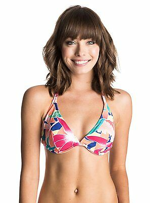 Roxy 'Tropical Monsoon' Bikini Top - Various Sizes Available (14140)